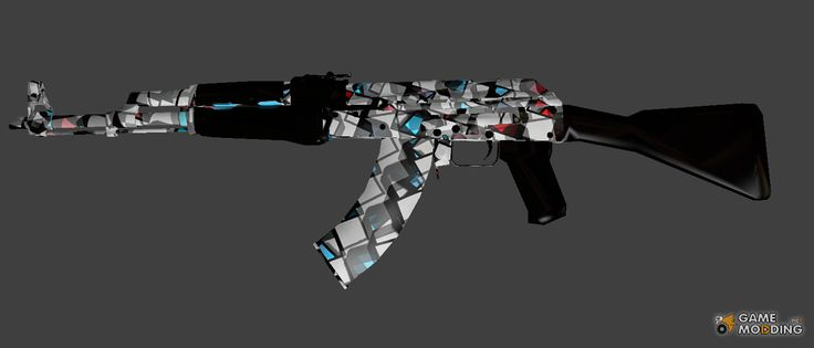 Ak47 & Ruby Diamond for Counter-Strike Source