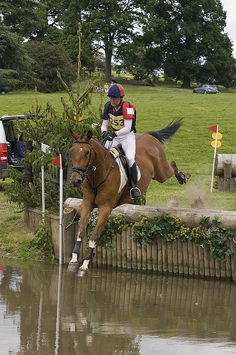 Catton Hall Cross Country Horse Event..it's my dream to run a Cross Country course