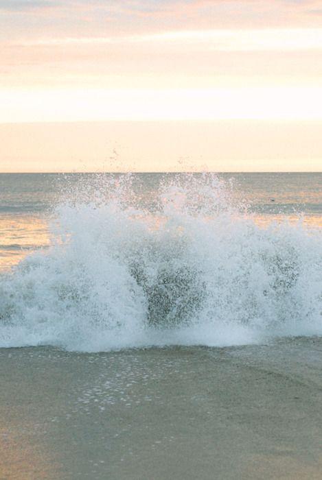 Anywhere near the ocean waves!