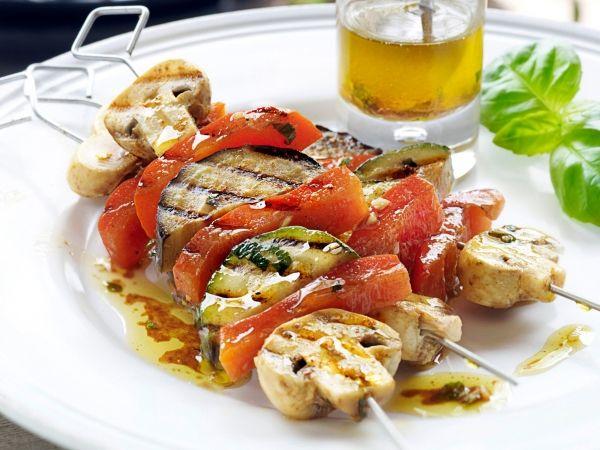 Ook veggies kunnen genieten van een barbecue