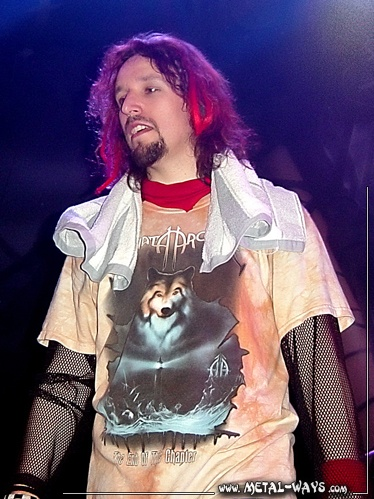 Tony Kakko (vocalist/songwriter for Sonata Arctica).  He's my favorite modern musician.