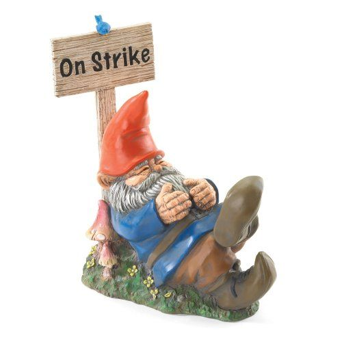 Gifts & Decor On Strike Sleeping Gnome Outdoor Statue (Discontinued by Manufacturer) Gifts & Decor http://www.amazon.com/dp/B000VBGS4A/ref=cm_sw_r_pi_dp_4vKLvb06P6FMM