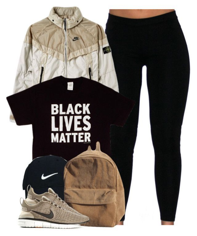 """""""Black Lives Matter."""" by cheerstostyle ❤ liked on Polyvore featuring STONE ISLAND, Nike Golf and NIKE"""