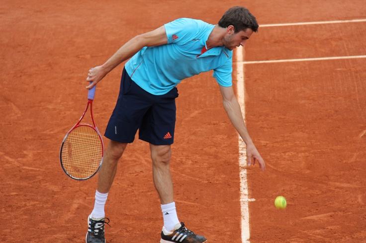 #gillessimon #rolandgarros 2012 #TV d'#orange: Gillessimon Rolandgarro, 2012 Tv, Roland Garros,  Racquet, Tv D Orange, Rolandgarro 2012