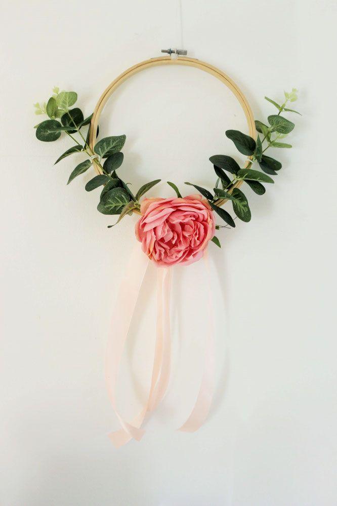 Diy Deko Mit Stickrahmen Und Blumen Selber Basteln Bridal Party