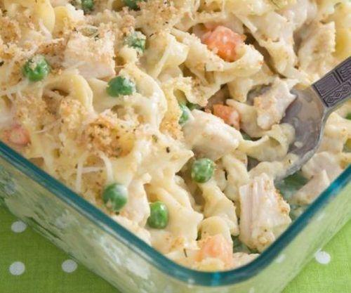 Classic Chicken Noodle Casserole Recipe - BudgetMeals.info
