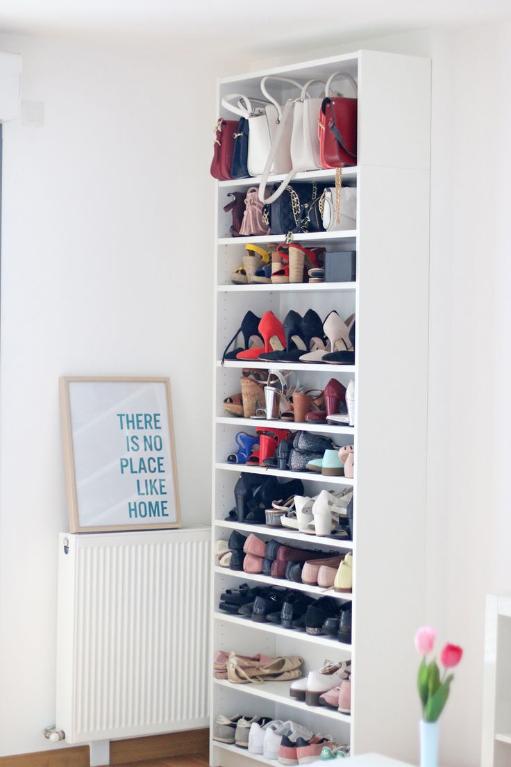 idée décoration pastel ikea organisation chaussures organizing home shoes