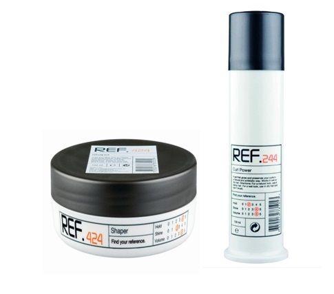 REF 244 en 424 super producten voor krullend haar.