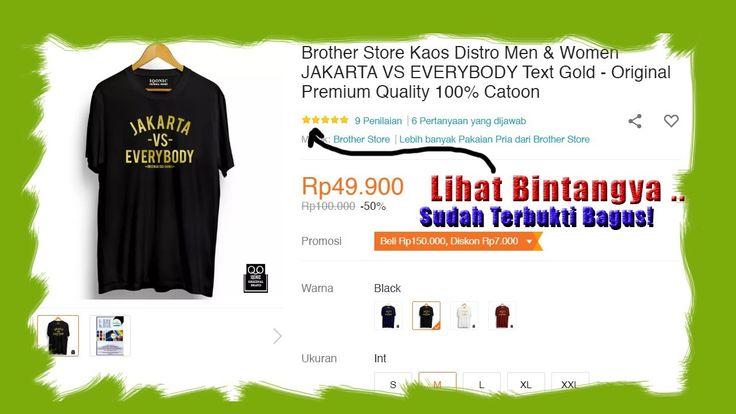 Brother Store Kaos Distro Men Women Jakarta Vs Everybody Text Gold Pre In 2020 Gold Text Kaos Men