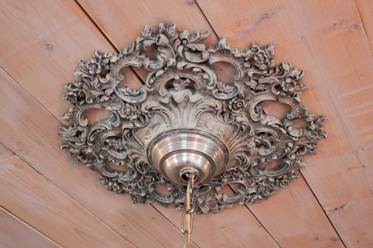 How to Make a DIY Chandelier Medallion | LoveToKnow Blogs Home ...