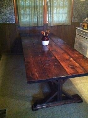 rustic farm table foot rustic farm table for sale in marion virginia classified - Farm Tables For Sale