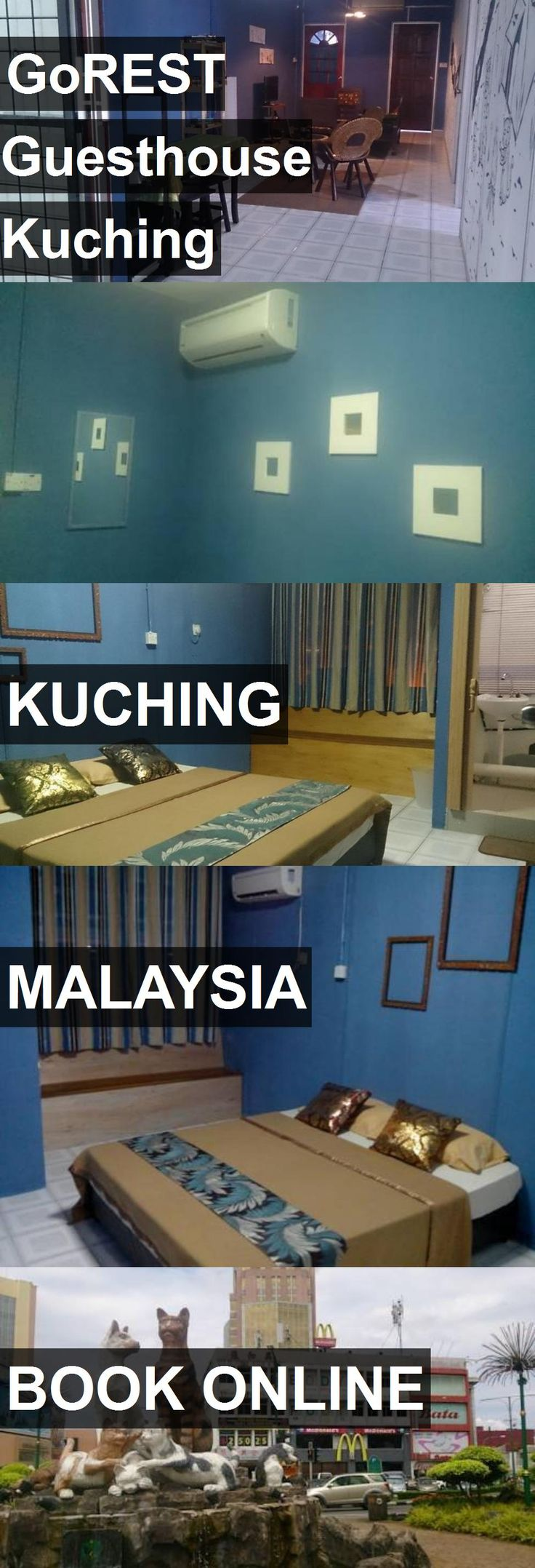 Hotel GoREST Guesthouse Kuching in Kuching, Malaysia. For more information, photos, reviews and best prices please follow the link. #Malaysia #Kuching #travel #vacation #hotel