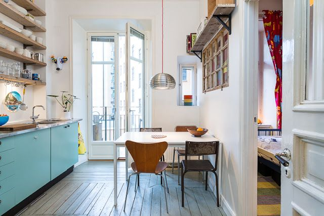 Eclectic Stockholm apartment