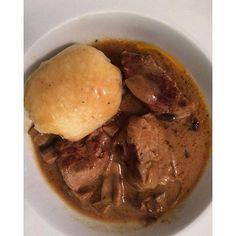#Schweinfilet Filet de cerdo al estilo suizo! Es la comida perfecta para invierno: casero pero pesadito