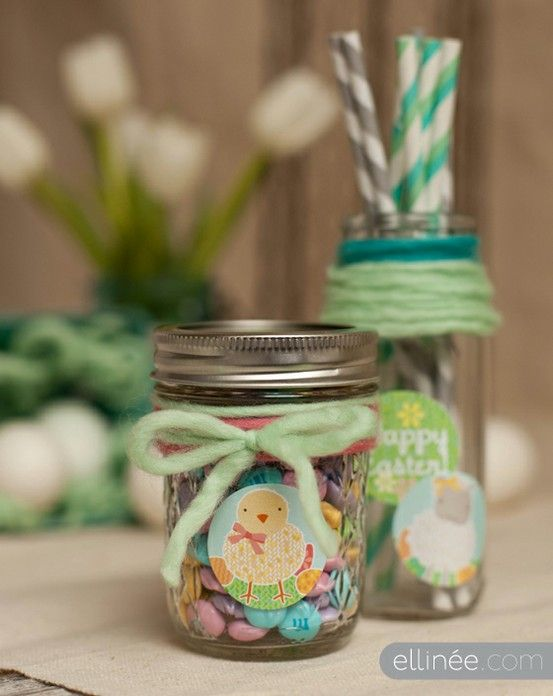 95 best easter gifts for kids hostesses images on pinterest click pic for 40 easter gifts in a jar easter critters homemade gifts in a jar negle Image collections