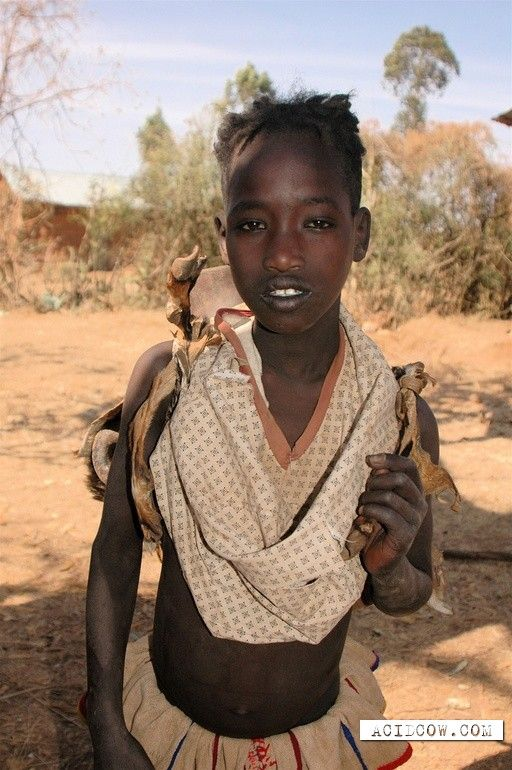 African Tribes | Girls of the African tribes (30 pics)