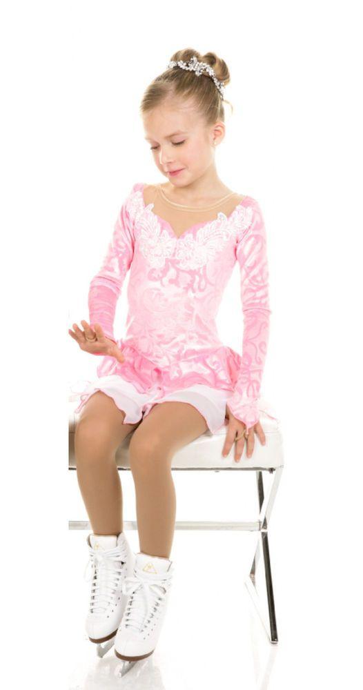 New Elite Xpression FAIRY ICE PRINCESS  Skating Dress D329-PK Made on Order | eBay