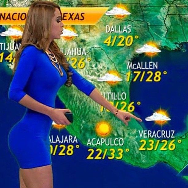 Reyssongs — Televisa network of Mexico weather person Yanet...