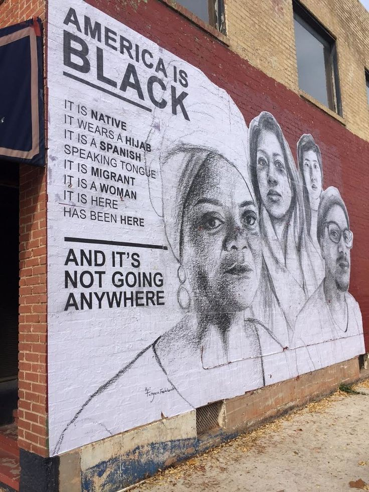 Street Artist Delivers Powerful Message To White America