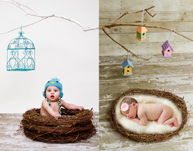 Eight simple, inexpensive props for newborn photography