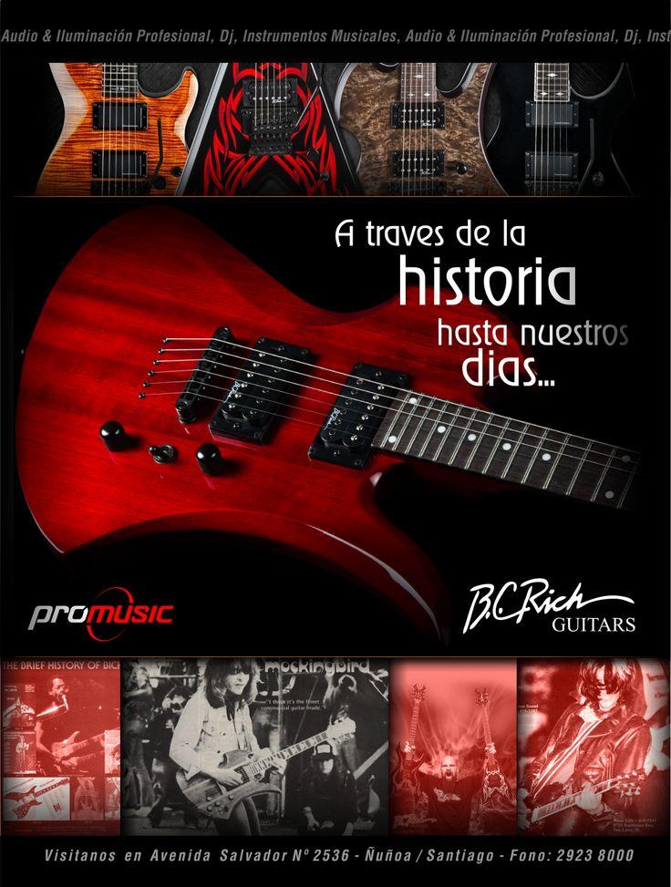 #bcrich #guitarras #bajos #promusic