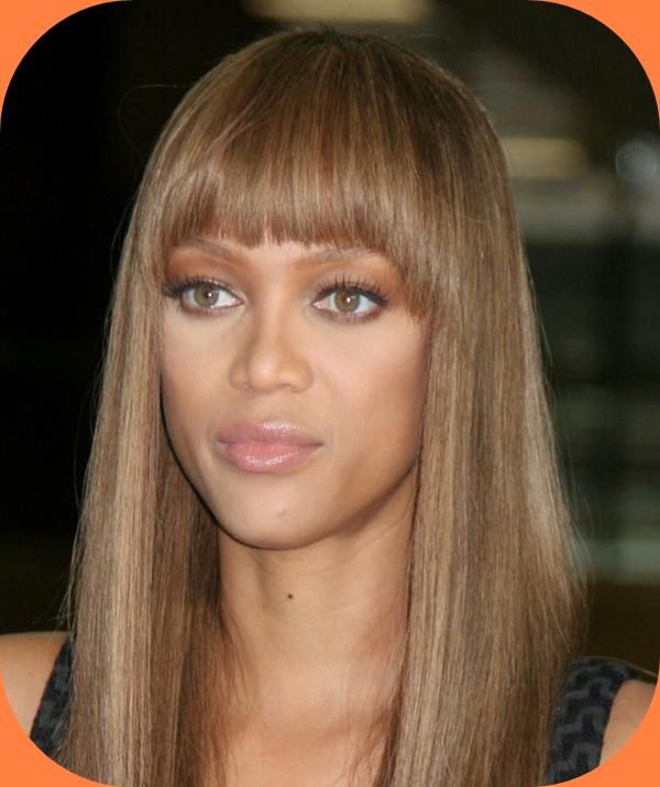 Tyra Banks Ponytail Hairstyles: Tyra Banks Hairstyles With Bangs