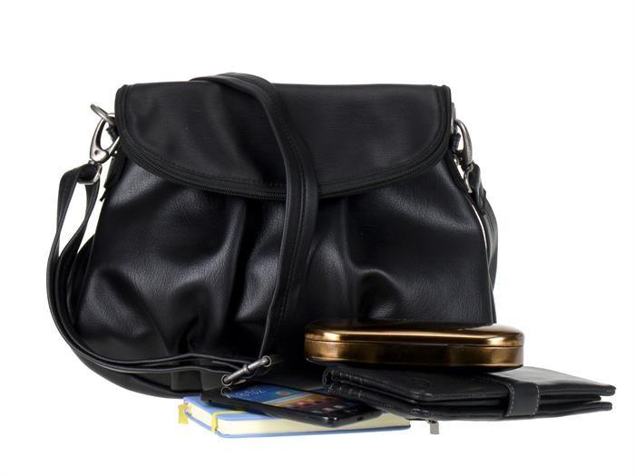 Billy the Kid - Handtasche THE EVERYDAY - Beuteltasche Umhängetasche Damen - schwarz