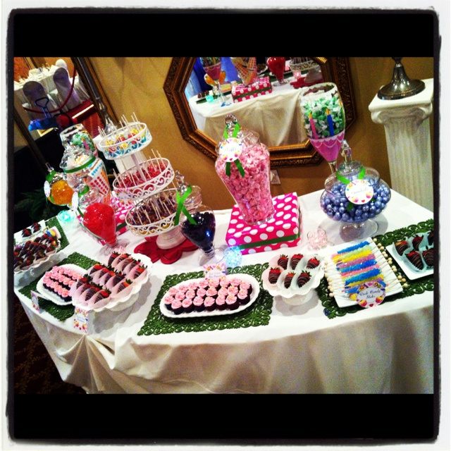 "Quince's ""Katy Perry"" Candy Station"