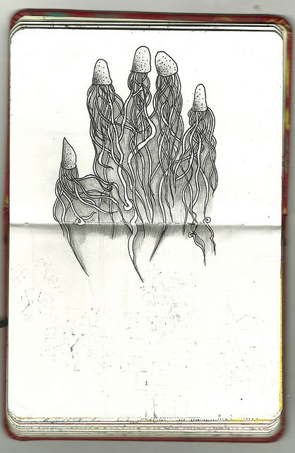 #hand #Illustration #drawing #draw #sketchbook #sketch #moleskines #moleskine #arte #art #Chava #ChavaPopCorn