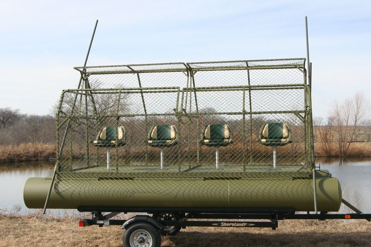 floating duck blinds