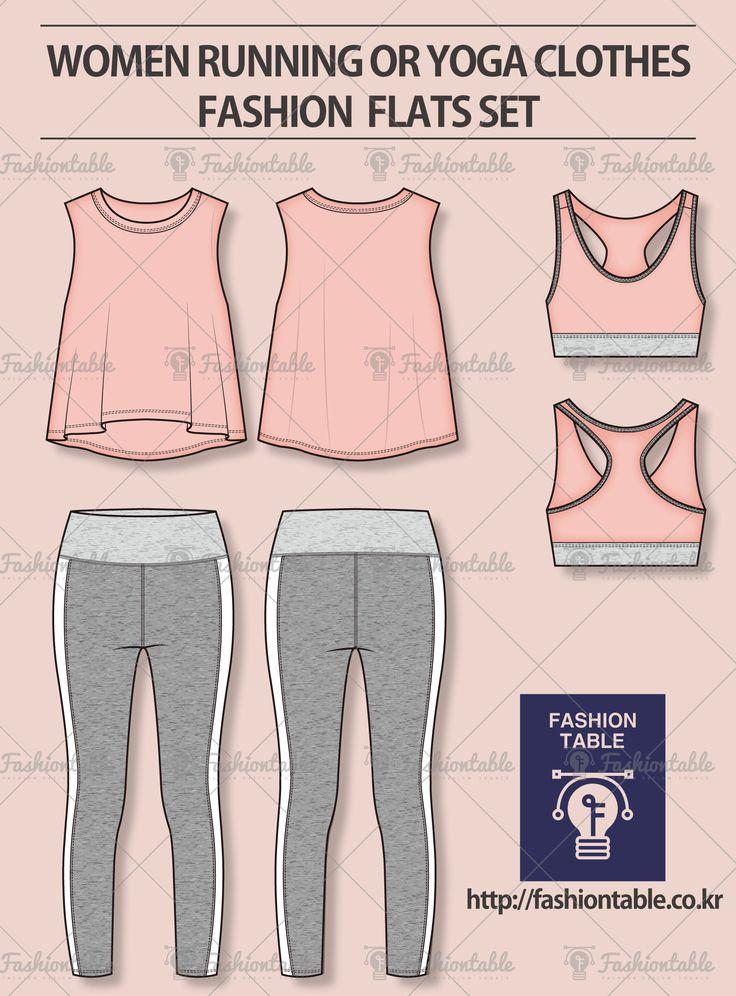 #fashion flats yoga clothes