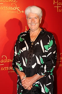 Dawn Fraser AO, MBE (born 4 September 1937) is an Australian champion swimmer and politician. She is one of only three swimmers to win the same Olympic event three times – in her case the 100 metres freestyle. Within Australia, she is known for her controversial behaviour and larrikin character as much as for her athletic ability.