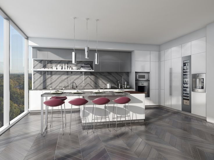 Kitchens, Wardrobes, Vanities by Poliform www.theperry.com