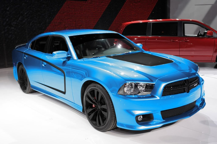 Blue Dodge Charger! Beautiful car!