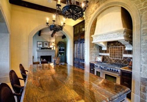 granite that looks like wood on island kitchen. Black Bedroom Furniture Sets. Home Design Ideas