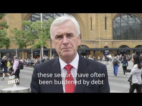 Published on May 31, 2017 John McDonnell, Labour's Shadow Chancellor, explains that privatisation has ripped us off for 30 years - we need democratic control of key services. #Labourmanifesto2017