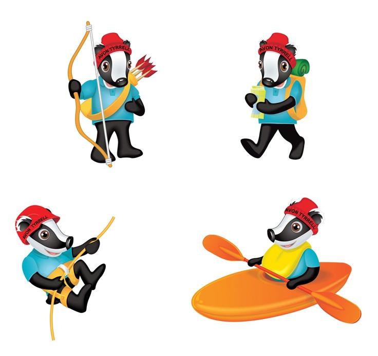 Avon Tyrrell character illustration