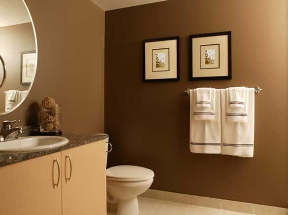 Bathroom Paint Brown
