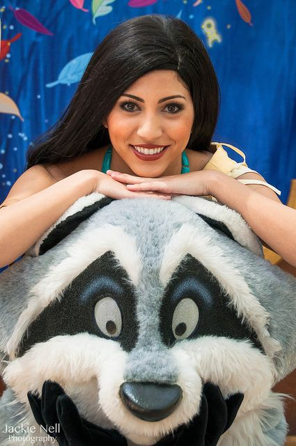 Pocahontas & Meeko...a couple of local favorites!