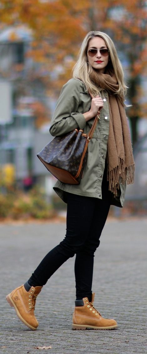 fantastic outfits with timberland boots