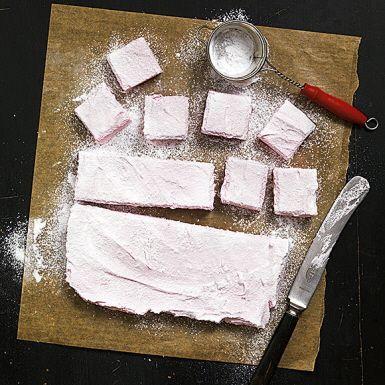 Recept: Rosa marshmallows