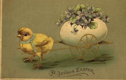 Vintage Easter Postcards from Spread The Luv Greetings