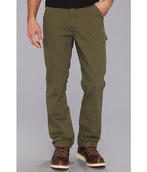 CARHARTT Washed Twill Dungaree Flannel Lined Pant. #carhartt #cloth #pants