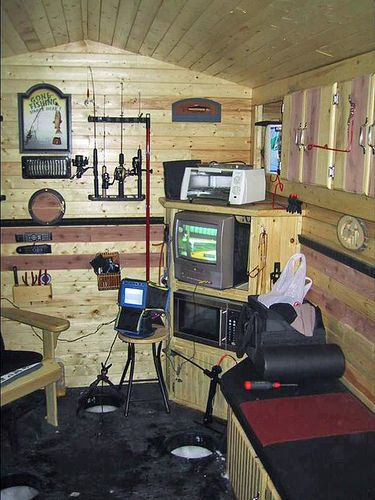 68 Best Images About Hunting Shack Fish House Ideas On
