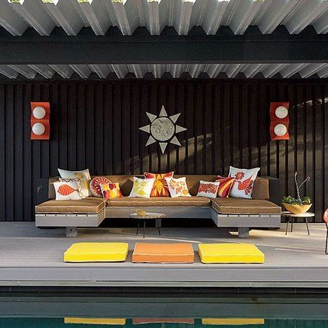 15 Creative Outdoor Seating Ideas : Architectural Digest