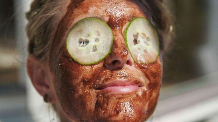 Ätbar ansiktsmask