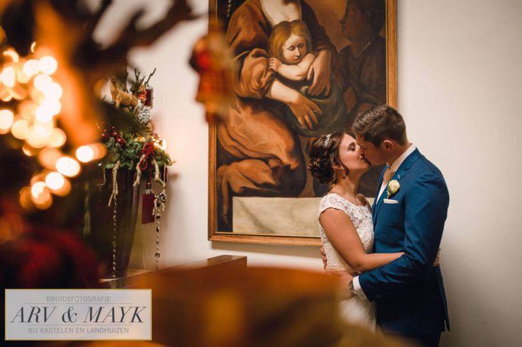 #Bruidsfotografie en #trouwen bij een #kasteel