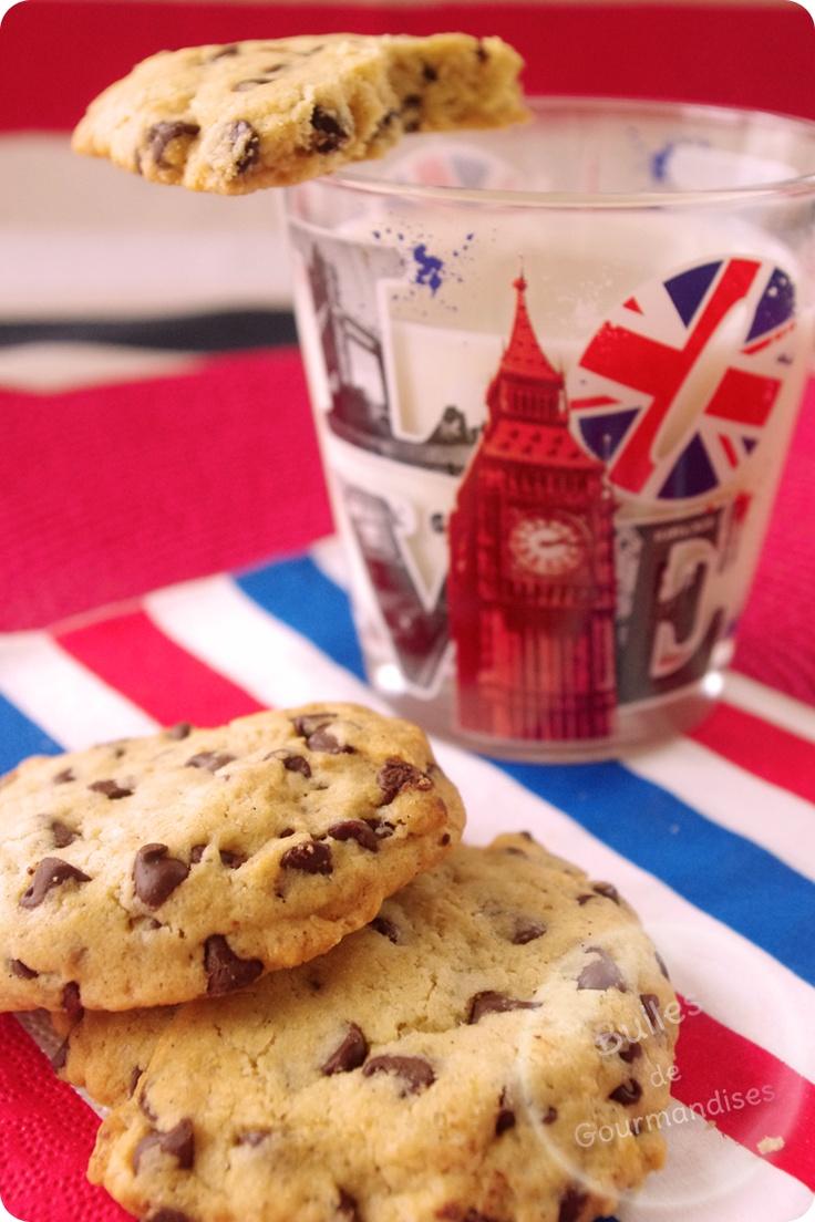 Chocolate chips cookies recipe... Not for kids only !  / Cookies aux pépites de chocolat... c'est pas que pour les enfants !!!