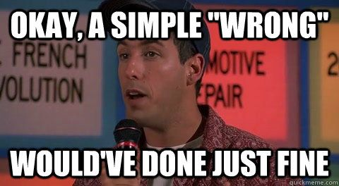 Billy Madison funny