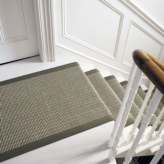 Stairs with running carpet